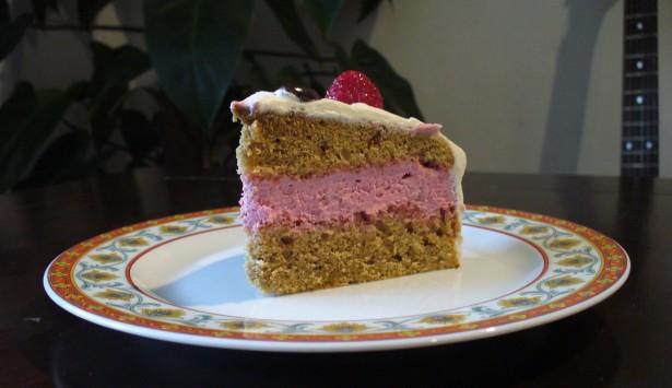 Himbeer-Kaffee-Torte 2